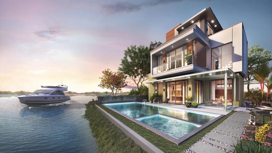 Phoenix South đảo Phượng Hoàng tại dự án Aqua City