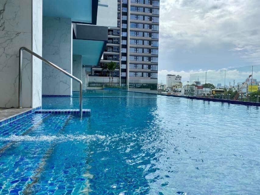 Bể bơi vô cực tại dự án Kingdom 101
