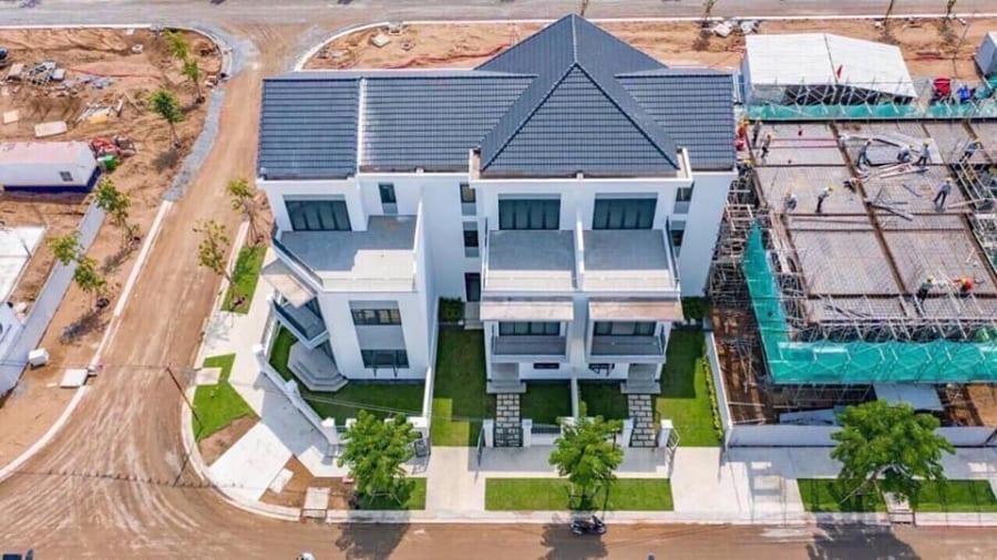 Tiến độ xây dựng dự án Aqua City tháng 8/2020