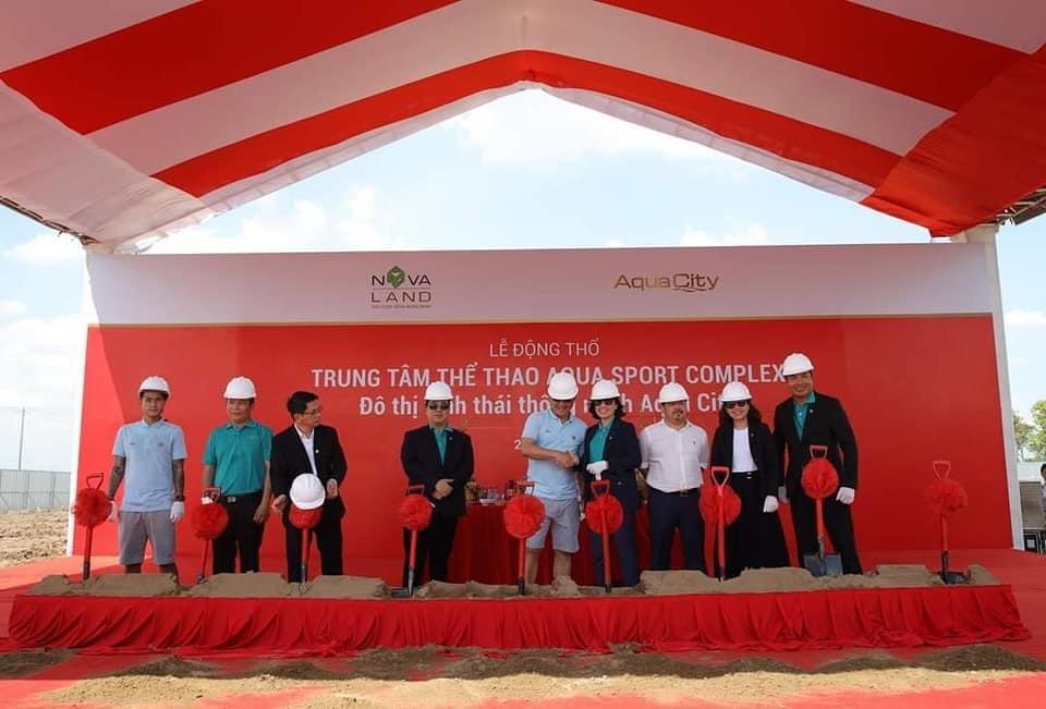 Khu thể thao Aqua Sport Complex đã chính thức động thổ vào tháng 8/2020