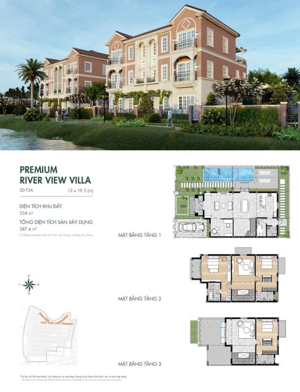 Biệt thự Aqua City – River Park 1