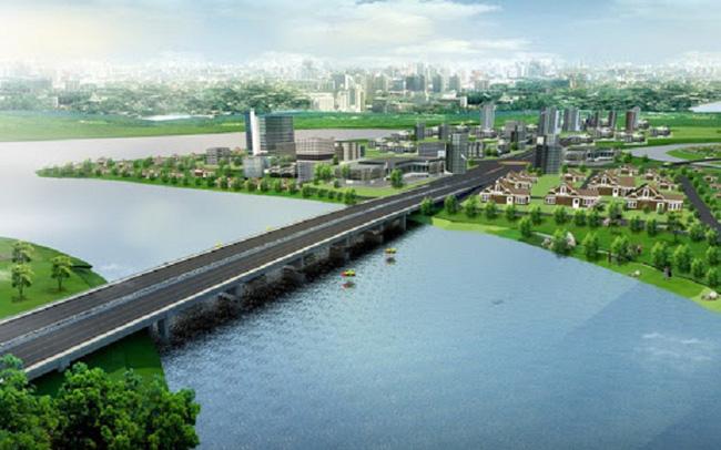 Khởi công Cầu Vàm Cái Sứt 224 tỷ kết nối chuỗi đô thị dọc sông Đồng Nai với Thủ Thiêm vào 2/10/2020.