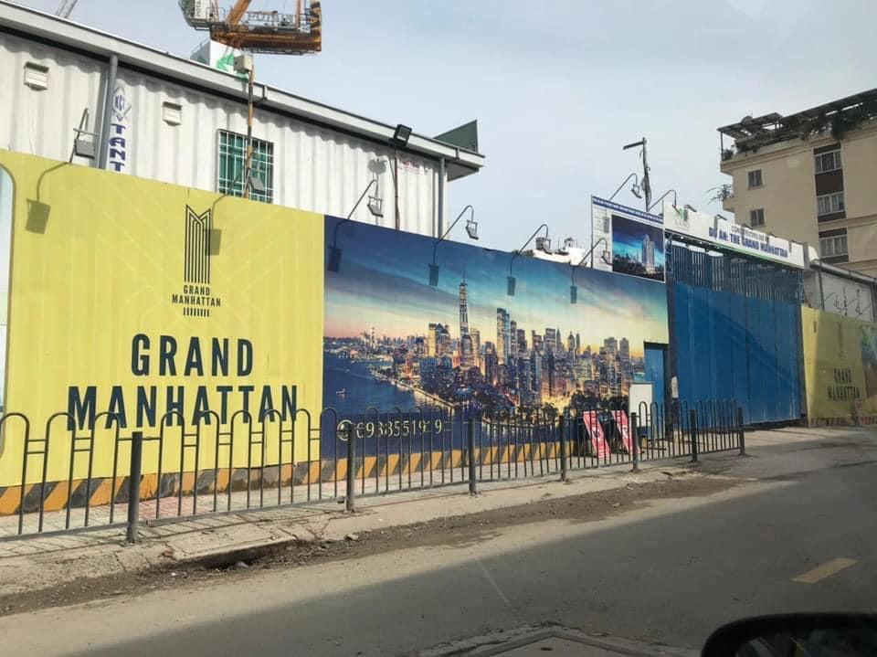 Tiến độ dự án The Grand Manhattan Novaland Quận 1