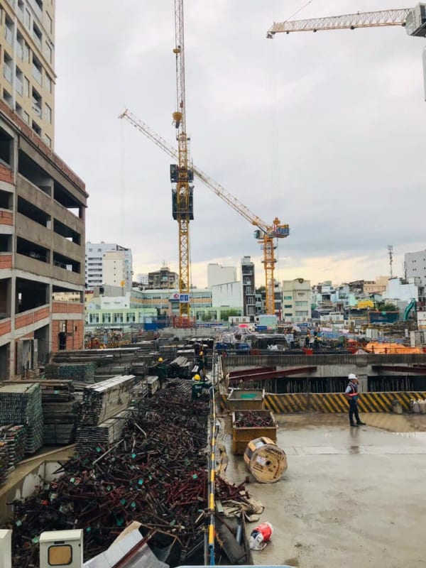 Đơn vị Lotte E&C là nhà thầu chính của dự án này.