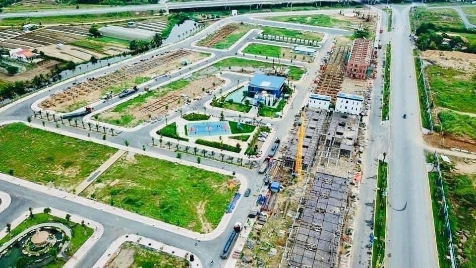 Dự án Sol City Long An quay flycam từ trên cao