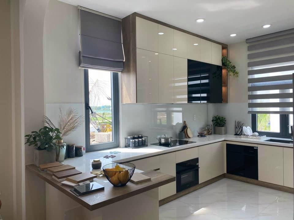 Hoàn thiện căn nhà mẫu diện tích 5 x 17m để khách hàng tham quan