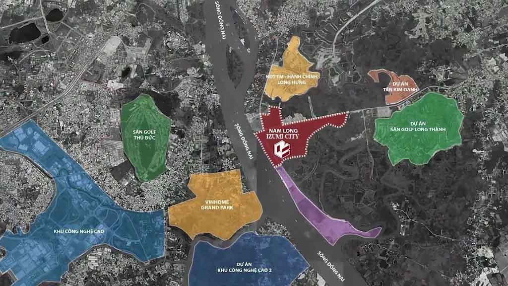 Pháp lý dự án Izumi City Nam Long